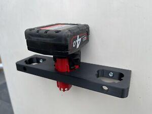 Milwaukee M12 Battery Storage Holder 12V [Fuel/Drill/Impact/Saw/Ratchet/Light]