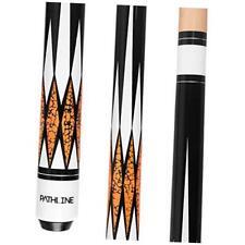 Pool Cue Stick - 58 inch Canadian Maple Professional Billiard D Orange 21oz