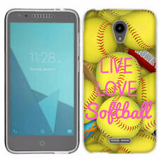 For Alcatel U50 Love Softball Case Skin Cover