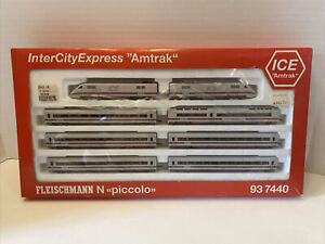 "Fleischmann 937440 N InterCity Express ""ICE"" Set LN/Box"
