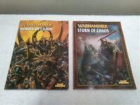 Warhammer Fantasy Storm Of Chaos & Hordes Of Chaos Games Workshop Manuals