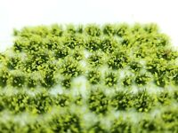 Self Adhesive Static Grass Tufts for Miniature Scenery -Yellow Wildflowers- 4mm