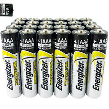 24 x Energizer AAA batteries Industrial 1.5V LR03 Micro MN2400 EN92 AM4 EXP:2027