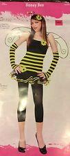 Honey Bee Teen Costume Size Medium 7 to 9