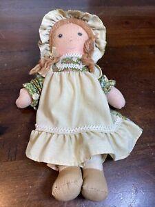 "Vintage 1970's Knickerbocker Holly Hobby's Friend AMY 9"" Plush Doll! RARE!"