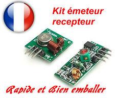 Module RF 433Mhz émetteur et récepteur. Arduino, Pi, Domotique, Modélisme, DIY.