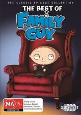 Family Guy - The Best Of (DVD, 2012, 3-Disc Set)