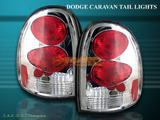 96-00 DODGE CARAVAN DURANGO TAIL LIGHTS CHROME G2 99 98