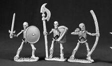 Skeletons Reaper Miniatures Dark Heaven Legends D&D RPG Undead Ranged Melee