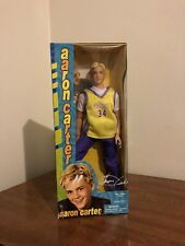 AARON CARTER ACTION FIGURE DOLL 2001 LAKERS JERSEY COLLECTOR. NEW IN BOX