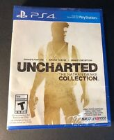 Uncharted The Nathan Drake Collection [ Uncharted 1 + 2 + 3 ]  (PS4) NEW