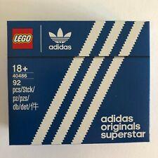 LEGO Adidas Originals Superstar 40486 Brand New Sealed Set 04/21