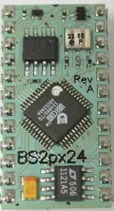 Parallax BS2PX IC, BASIC STAMP 24 Pin, Microcontroller Electronics Project Atom