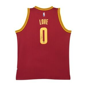 Kevin Love Signed Autographed Swingman Jersey  Road Cleveland Cavaliers #0 UDA