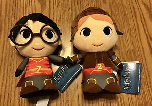 Funko SuperCute Plushies - Harry Potter & Ron Weasley Quidditch set