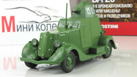 BA-20 USSR Soviet Auto Legends Diecast Model DeAgostini 1:43 #109