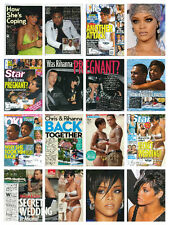 Rihanna RARE collection - over 400 magazine articles, clippings & photos     L1