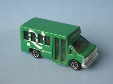 Matchbox Chevy Transport Airport Bus Green National Toy Model Car