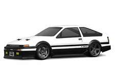 1:18 hpi 7611 toyota trueno ae86 Lexan body/carrocería clear + Decals wb140mm