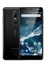 """NOKIA 5.1 5.5"""" 32GB+3GB RAM DUAL SIM ITALIA Smartphone Android 4G LTE NERO BLACK"""