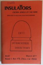 1977 INSULATORS CROWN JEWELS OF THE WIRE -  MARCH               (INV18032)
