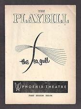 "Montgomery Clift ""THE SEA GULL"" Maureen Stapleton / Judith Evelyn 1954 Playbill"