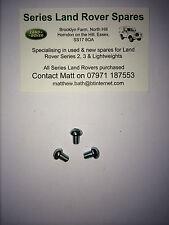 Land Rover Series 2 2a 3 Bearmach Speedo Cable Retaining Screws X3 78924 BR1581