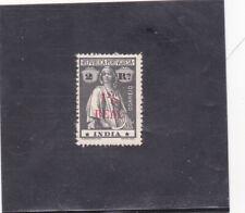 PORTUGUESE INDIA CERES SURCHARGED 1 1/2 r. s/ 2 r. type I - I pontinhado (1922)
