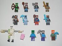 Lego ® Minifigure Figurine Personnage Minecraft Choose Minifig NEW