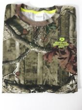 Mossy Oak youth size XL cotton blend Break-up Infinity camo crew NWT