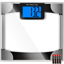 Digital Body Weight Bathroom Scale, Lcd Display, Max Weight 440 Pounds