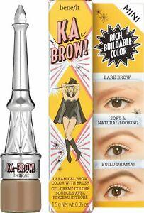 Benefit Ka-brow! Eyebrow Cream-gel, 03 Warm Light Brown, 1.5 g. FREE SHIPPING -