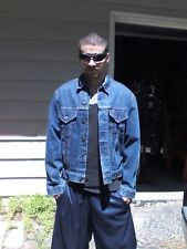 Vintage 1970's Levis Big E Red Tag Denim Trucker Jacket