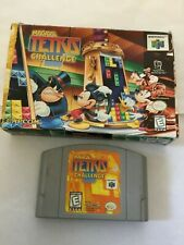 Magical Tetris Challenge (Nintendo 64 n64) with Box USED