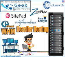 🔥 Reseller - cPanel/WHM Zamfoo Softaculous SitePad CloudLinux