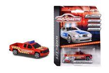Majorette 212056002Q02 - SoS Flashers - Chevrolet Silverado - Feuerwehr - Neu
