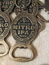 GUINNESS NITRO IPA BOTTLE OPENER BRASS WITH KEY RING LOT OF 25