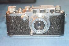 Leica IIIc con ob. rientrante Elmar 5cm f/3,5