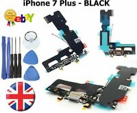 For iPhone 7 PLUS - USB Charging Port Dock Connector With Microphone Flex BLACK