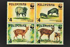 PHILLIPPINES 1997 ENDANGERED ANIMALS SET MNH