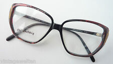 Coerstges edle 70er Jahre Frauenbrille XXL-Gläser tief gezogen GR:M Boho Vintage