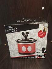 NIB Disney's Mickey Mouse Mini Crock Pot Red Home Kitchen Small Appliances