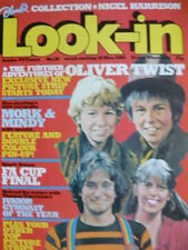 Look-In May Weekly Music, Dance & Theatre Magazines