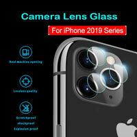 9D Back Full Lens For iPhone 11 Pro Max Tempered Glass Film Camera Protector aa