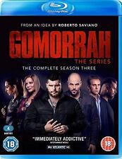 GOMORRAH COMPLETE SERIES 3 BLU RAY All Episode Third Season Original UK NEW R2