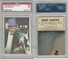 1966 Topps, Batman Color Photo, #55 The Penguin, PSA 7 NM