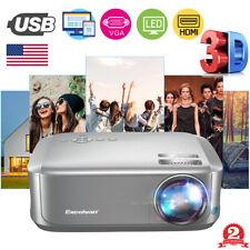 New listing 7000Lumens 1080P Home Theater Cinema Usb Vga Av Mini Portable 3D Led Projector