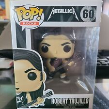 Funko Pop Rocks Metallica #60 Robert Trujillo Vinyl Figure 1053V