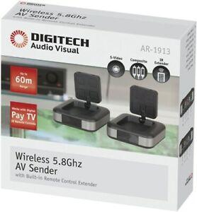 NEW Foxtel IQ2 IQ3 Wireless AV Sender Audio Video Transmitter Receiver PayTV