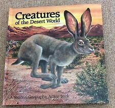 Pop-Up Book: Creatures of the Desert World by National Geographic Society 1987